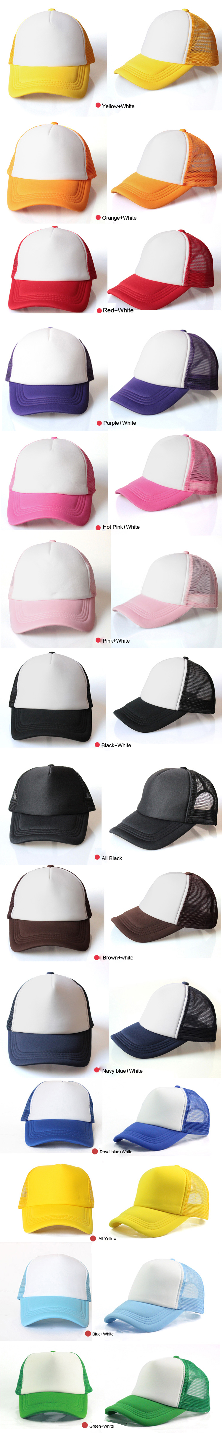 Hat Pink Without Logo 100% Twill Washed Toddler Multi Color 2 Tone Baseball Cap Cotton Green