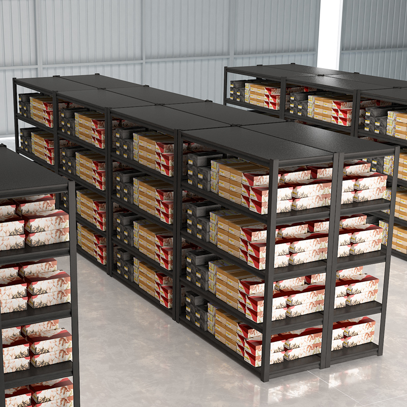 4 Layer Adjustable Pallet Light Duty Boltless Shelving <strong>Racks</strong>