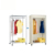 Hot Sell Portable Wardrobe Metal Frame Wardrobe Cabinet Small Closet Organizer For Bedroom