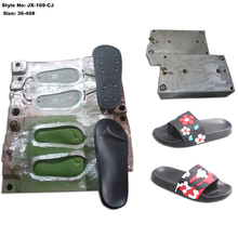 Aluminum PVC and EVA injection flip flop slippers sole <strong>mould</strong>