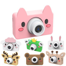 New Arrival Cute Kid's <strong>Camera</strong> Cartoon HD Screen 24Mega Pixels Kids Enlightenment Toy Birthday Gift Photo Video <strong>Digital</strong> <strong>Camera</strong>