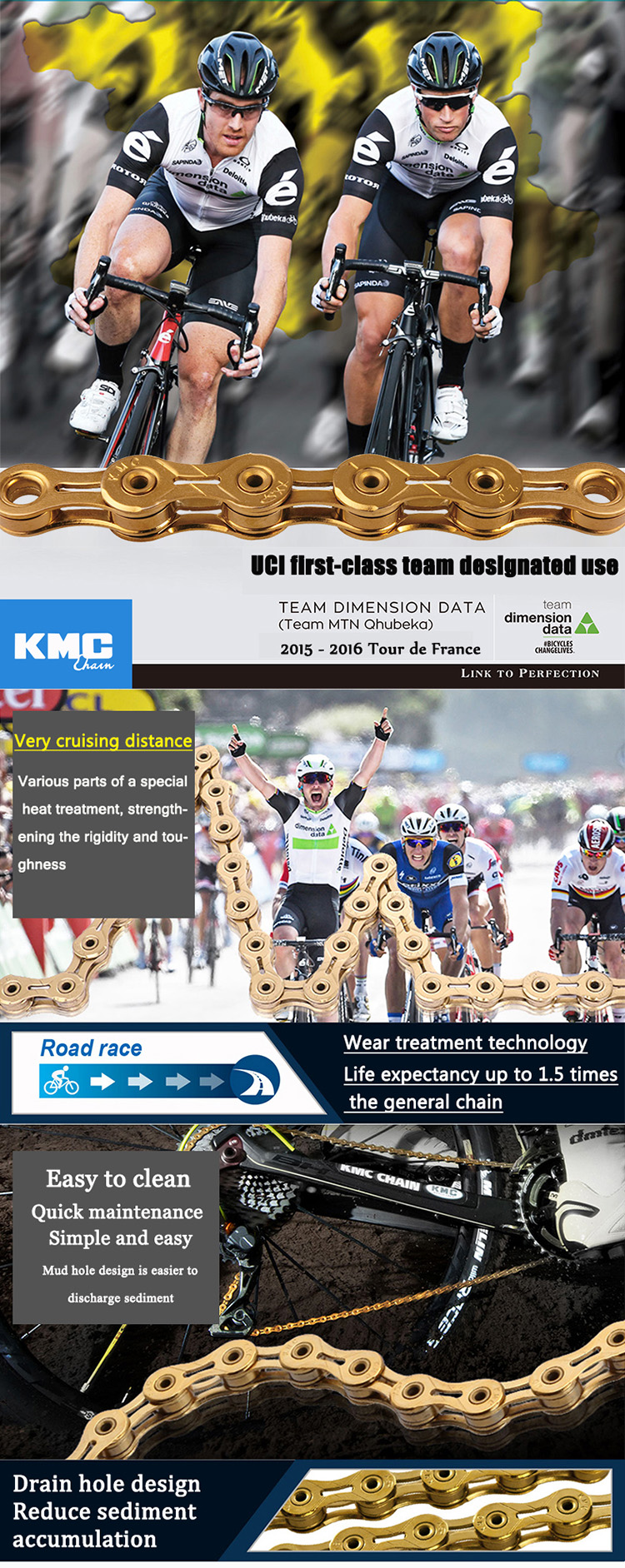 "KMC X8 X9 X9sl X10 X10sl X11SL X12 bulk MTB/Road bike chain gold silver 7 8 9 10 11 12 speed 116 links 1/2""*11/128"" chain"