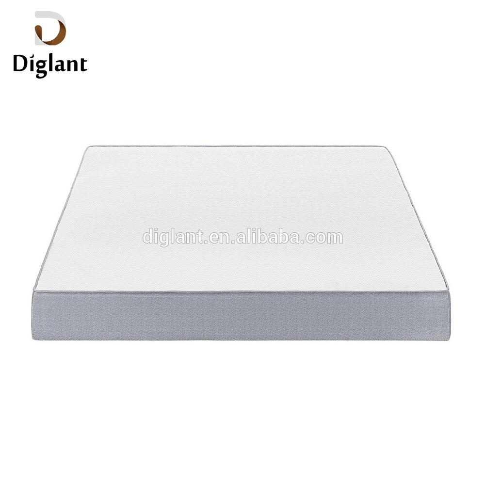 DM079 Diglant Gel Memory Latest Double Fabric Foldable King Size Bed Pocket bedroom furniture 10 inch spring mattress - Jozy Mattress   Jozy.net