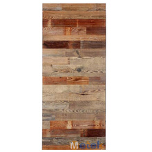 Reclaimed wood <strong>door</strong> rustic style