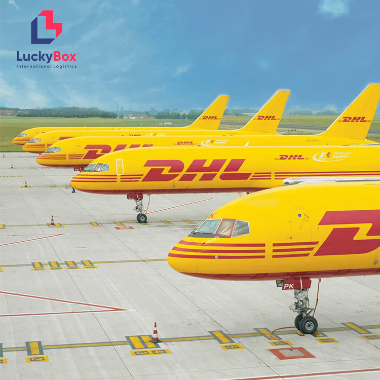 Luckybox Logistics LCL shipping to Bahrain Malaysia Nigeria by DHL UPS <strong>FEDEX</strong> Aramex delivery to Conakri burkina Faso Benin Johor