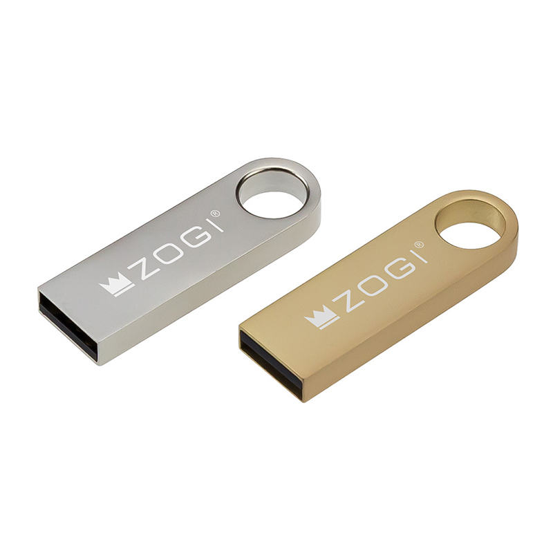 USB Pendrive Metal 1/2/4/8/16GB Ultra Mini USB Keychain Personalized Gadgets Brand Promotion USB Flash