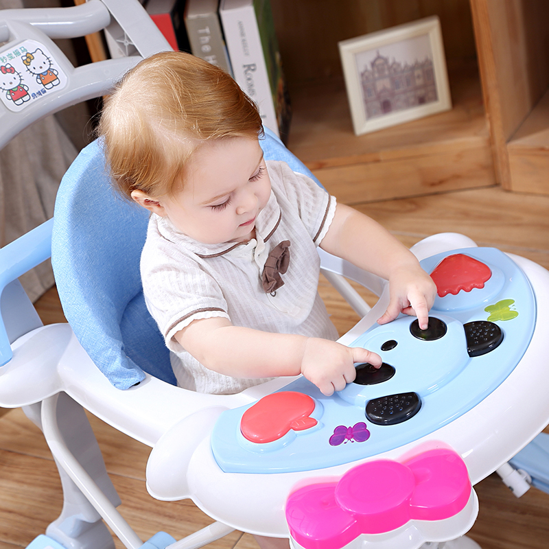 wholesale baby walker with activity table/musical and flashing light walker for baby/2019 new and popular kids baby walker
