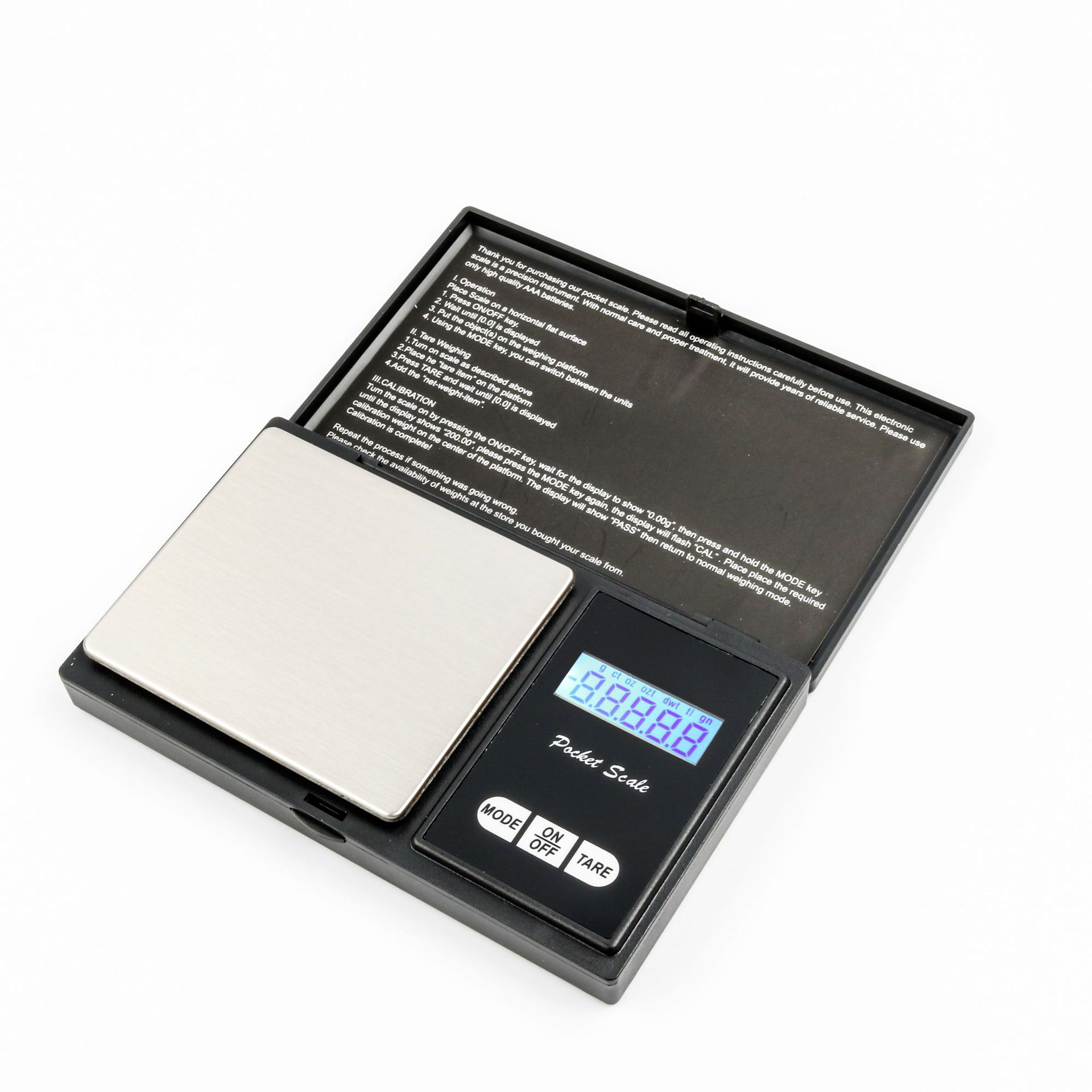 0.01G Electronic Gold Weighing Jewelry Digital Pocket Scale for Laboratory