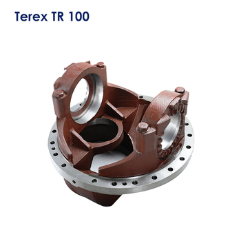 Factory custom terex mining dump truck parts differential housing 15007634