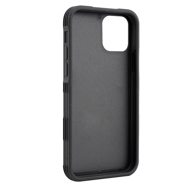 For iPhone 11 PC TPU tire pattern sides shockproof phone case with groove phone case