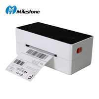 Direct thermal printer MHT-P108D wireless thermal shipping label printer with bluetooth