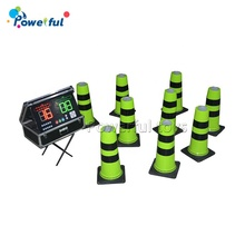Interactive sport cone set battle light cones <strong>x10</strong> ips play system