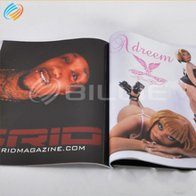 Magazines <strong>Book</strong> Design And Printing Manufacturer With Perforation