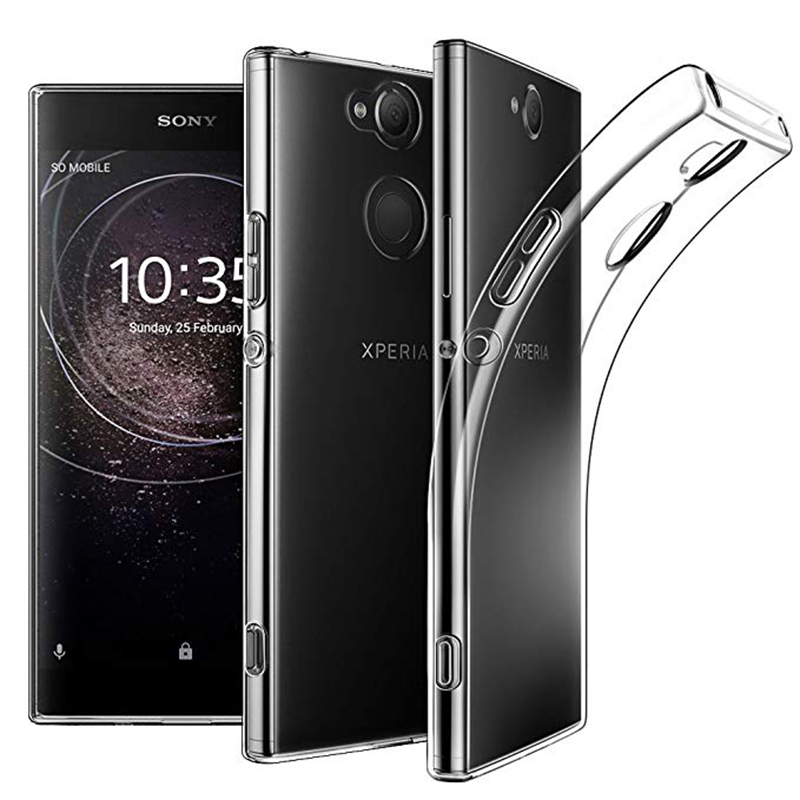 TPU Coque For <strong>Sony</strong> Xperia L1 L2 L3 X XA XA1 XA2 Ultra Plus XZ XZ1 XZ2 Z5 Compact Cover Transparent Case