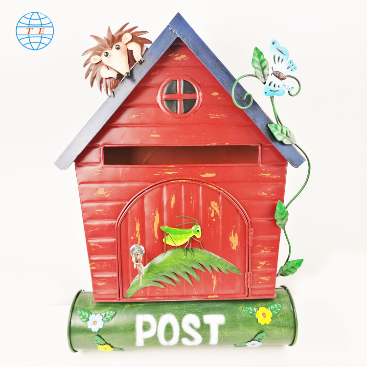 The most popular house post box, beautiful practical cheap metal mailbox