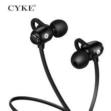 CYKE S6 Bluetooth earphones IPX5 Waterproof Wireless Sport Earphones <strong>w</strong>/CVC 6.0 Noise Cancelling Mic for Running Workout