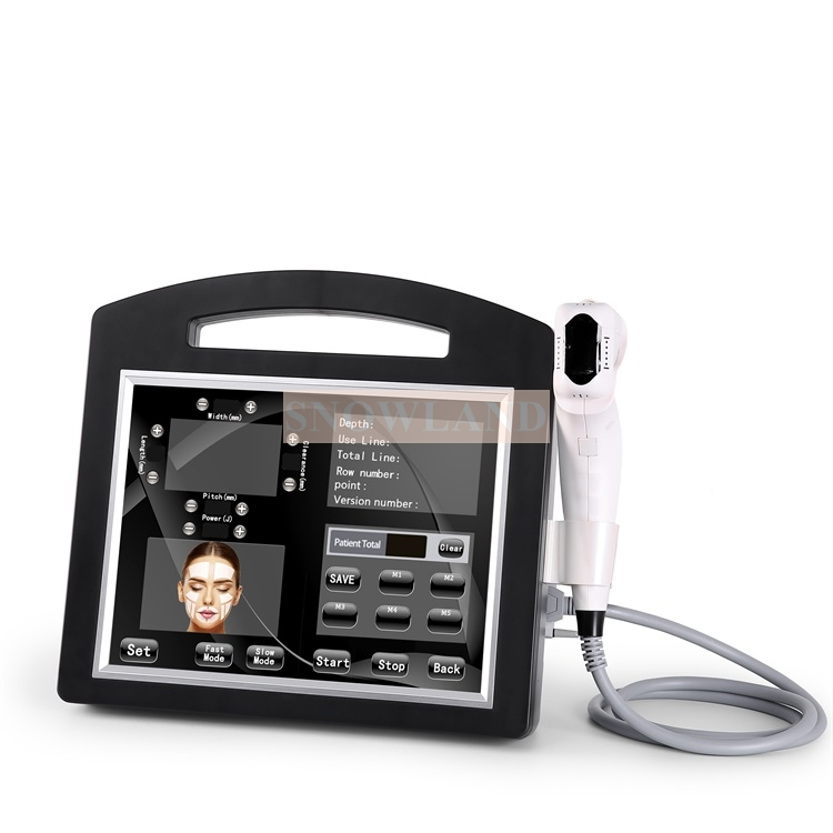 4D Ultrasound Machine with 12 lines  For Body Slimming And Face Lifting