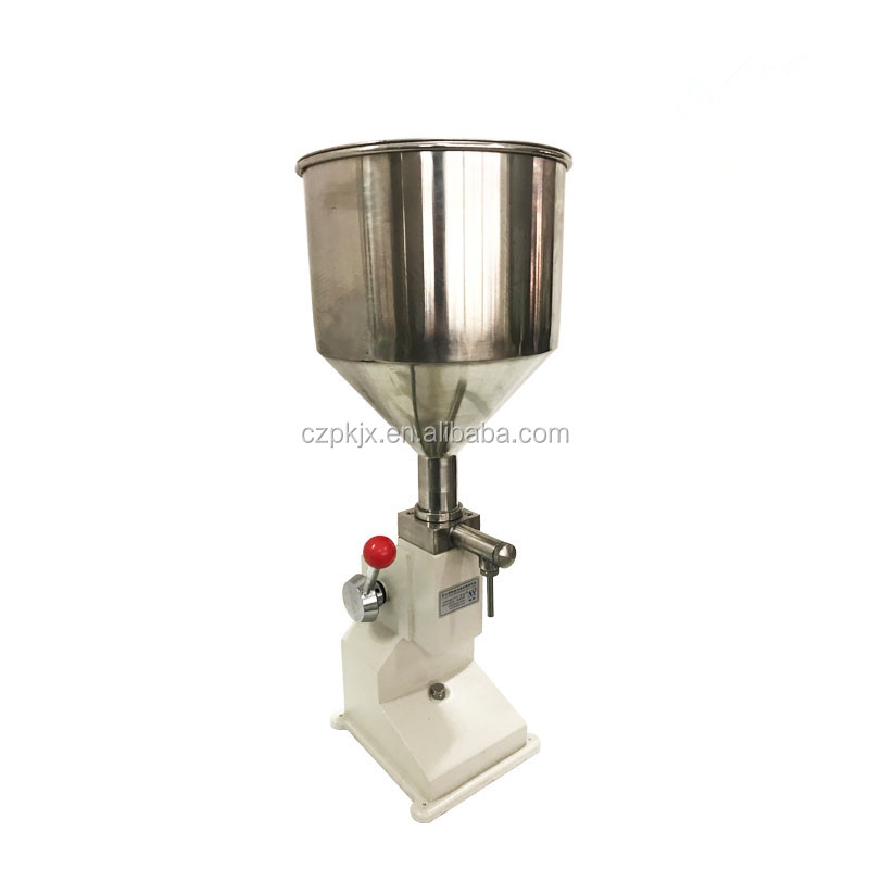 Pneumatic filling machine 5-50ml cream food paste dispensing liquid filling equipment Stainless steel <strong>A03</strong>