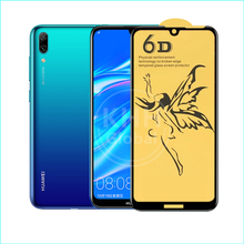 HOT sell Angel pattern 9H 6D curved Tempered Glass For HUAWEI ENJOY9 with OEM Service