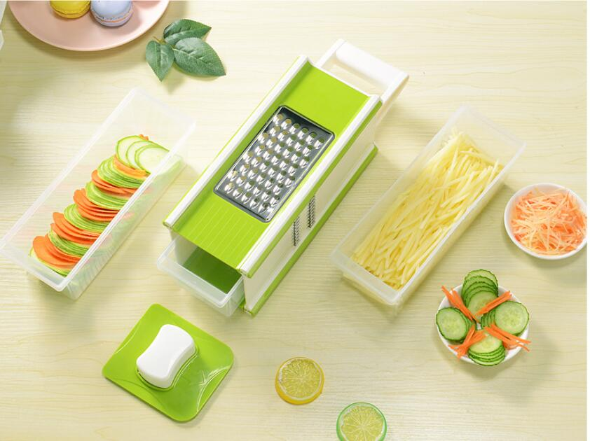 Promotion High Quality Multifunctional Kitchen Slicer Vegetable Grater 2020 New Salin-Kitchenware