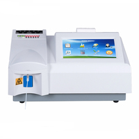 Medical laboratory equipment 3-Part ,8 wavelength semi-auto biochemistry analyzer price can test blood glucose