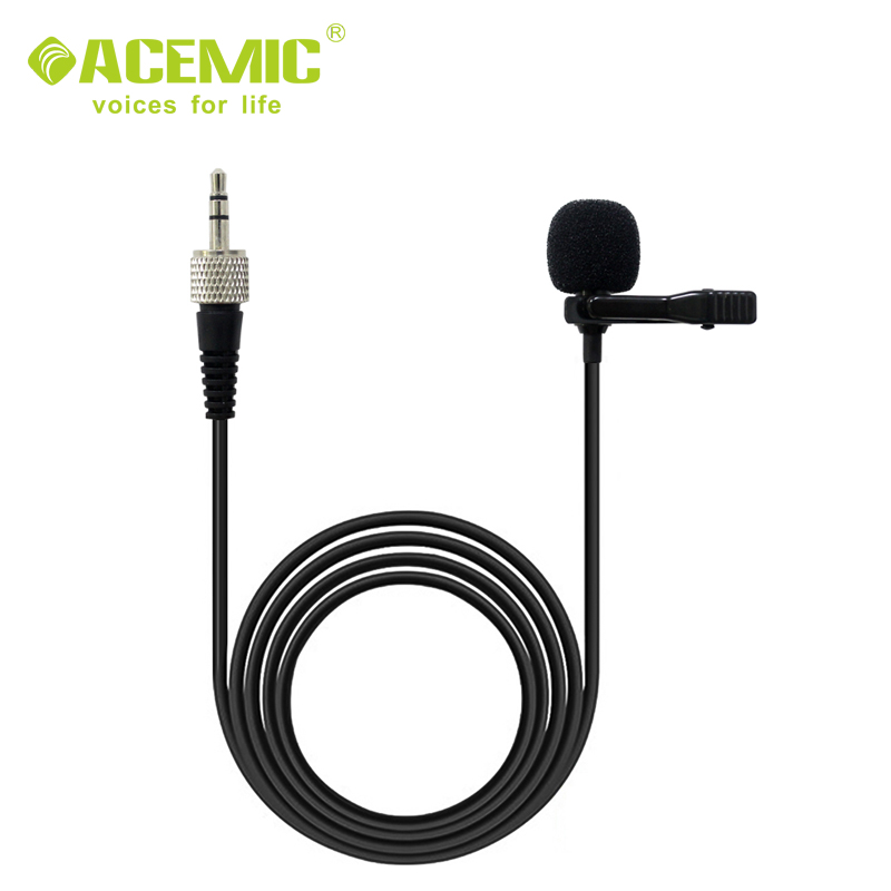 Lapel lavalier microphone for sony plug D11D12 wireless <strong>camera</strong> system