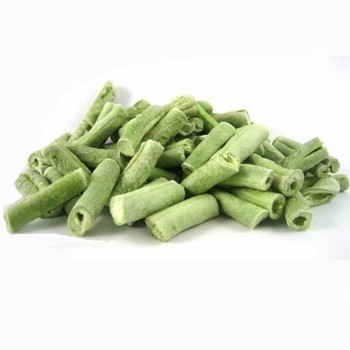 Freeze Dried Green Beans Wholesale Lyophilization Vegetables Slice Cube
