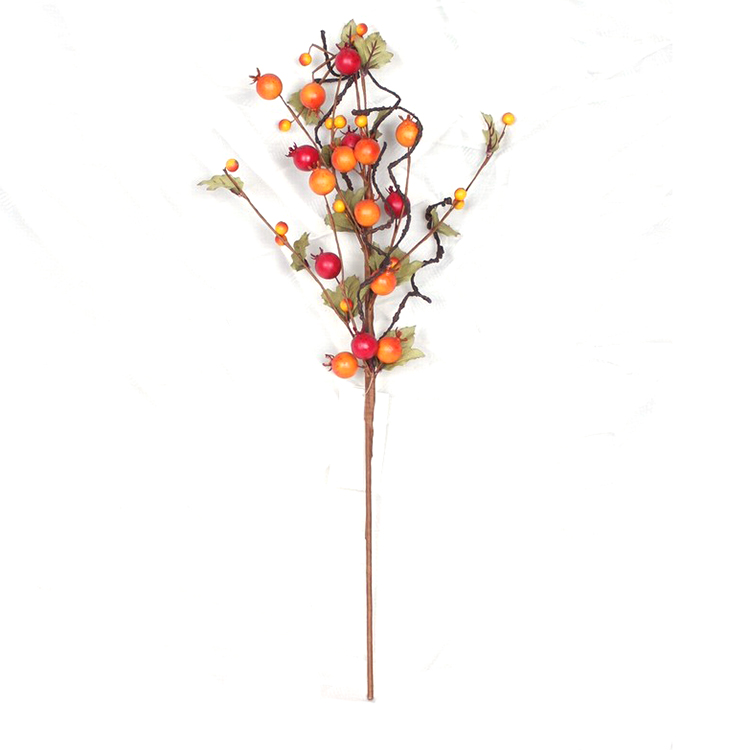New product artificial Floral Picks Fall Harvest Festival Decorations