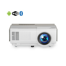 Home cinema mini <strong>projector</strong> 1080p support led lcd portable <strong>projector</strong> with Android Wifi Bluetooth Native resolution 1024x600