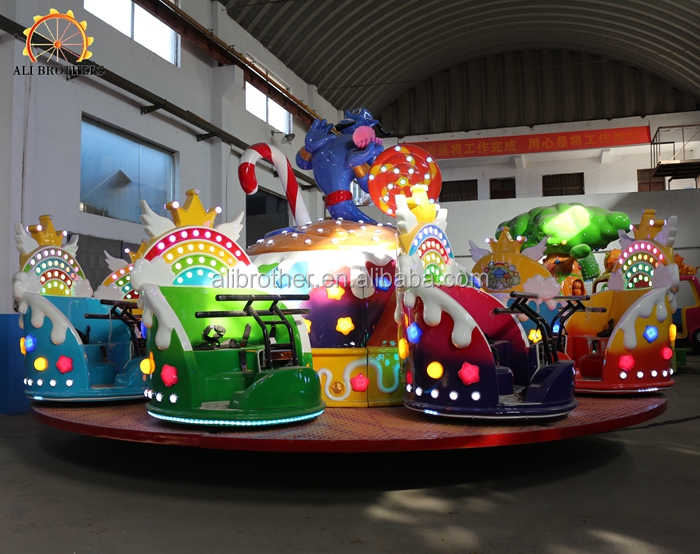 new fun beatiful rides indoor or outdoor amusement equipment  crazy dance ride  Magic lamp ride for sale