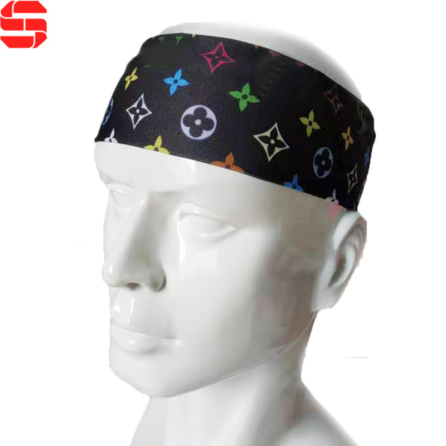 Custom Printed Sports <strong>Headbands</strong> Spa Head Wrap <strong>Headband</strong> for Cleaning Face