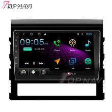2 Din 10.1 IPS Touch Screen Car DVD Multimedia Player Para Toyota Land Cruiser 2016 2017 2018 2019 Android Rádio áudio GPS Navig