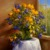Dafen Customized Picture Hand painted High Resolution Impressional Beautiful Flower Canvas Oil Painting