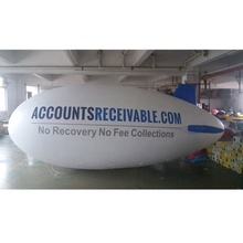 Advertising Inflatable Helium Blimp Balloon Airship For Sale