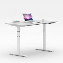 Clover Modern electric sit stand desk telescopic design lift table adjustable computer desk