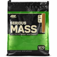 Serious Mass Protein Mass Gainer 12 lbs / 16 Servings Optimum Nutrition