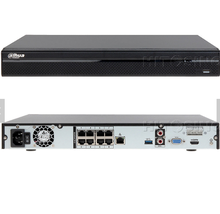 DH 8 Channel 8PoE 4K&amp;<strong>H</strong>.265 Lite Network Video Recorder NVR4208-8P-4KS2