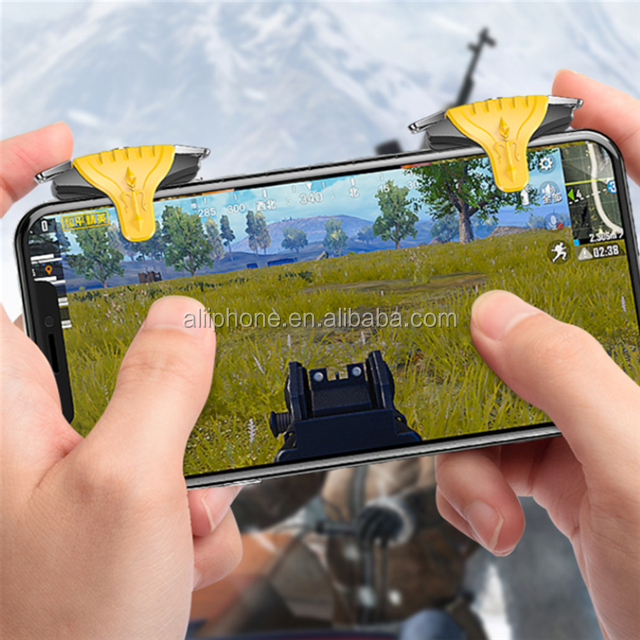 2020 new arrival android wireless game joystick f01 l1r1 button for pubg triggers