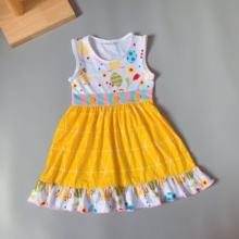 Wholesale Boutique Baby <strong>Girls</strong> Pearl Tunic <strong>Dress</strong> Designs geometric pattern baby <strong>girl</strong> <strong>dresses</strong>