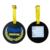 Custom shape business rubber luggage tag