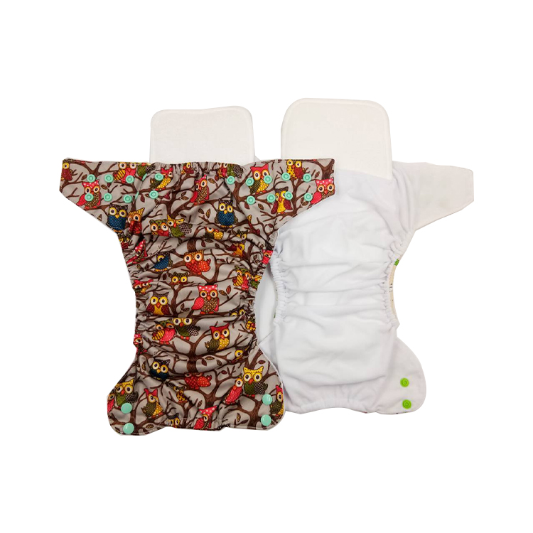 <strong>Manufacturer</strong> wholesale of baby cloth diaper factory in China one size pocket reusable washable diaper nappy Printing