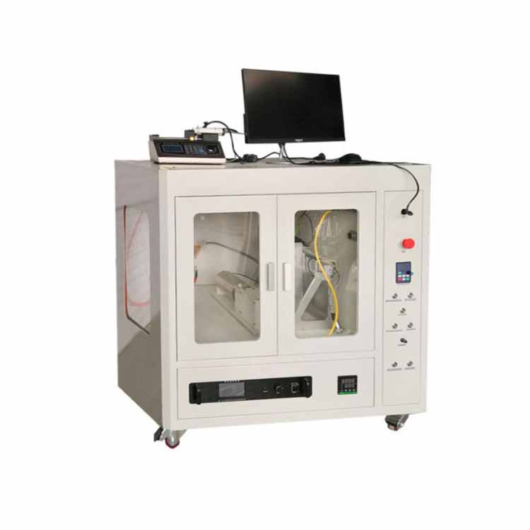 Nano fiber electrospinning unit with two dual channel syringe pumps for lab