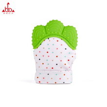Amazon Hot Seller Baby Products Chinese factory spot wholesale baby silicone teethers gloves