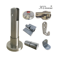 New Design Stainless Steel Cubicle Fittings Toilet Partition Accessories