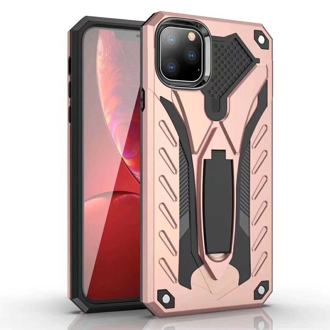 Jary mobile phone housing <strong>2</strong> in 1 TPU PC hybrid kickstand defender phone case cover for VIVO V7 V9 V11 V15 Y95 Y17