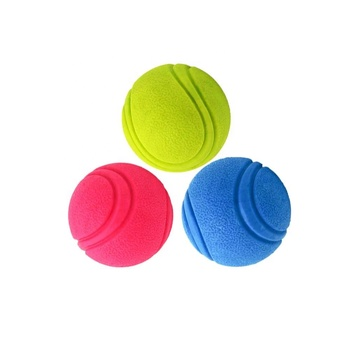 Custom TPR Balls For Pets Products Ball Chew Dog Toy Play Games Led Dog Tennis Ball Launcher