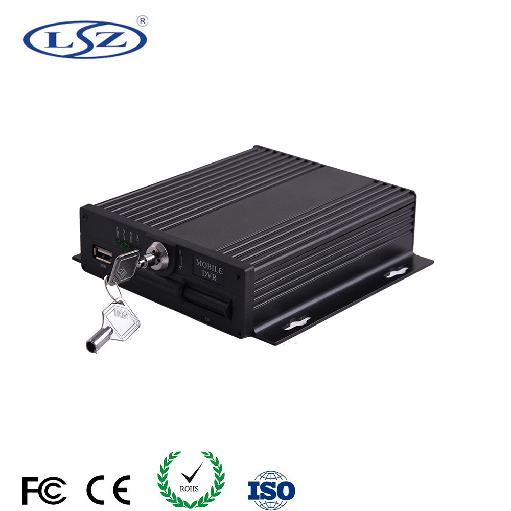 Auto Taxi Bus SD Card Mobile <strong>DVR</strong> <strong>4CH</strong> Digital Audio Video Recorder <strong>D1</strong> 720P 960P AHD MDVR