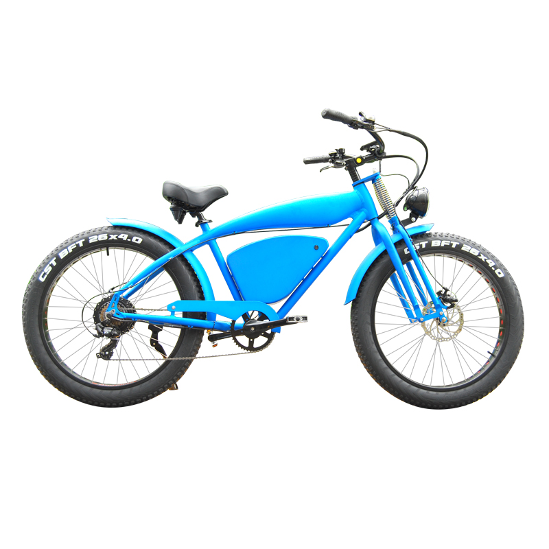 Super Electric Bike 26 Inch Fat Electric Bicycle 48V <strong>1000</strong> <strong>W</strong> Motor Aluminium Alloy Frame 7 Speed