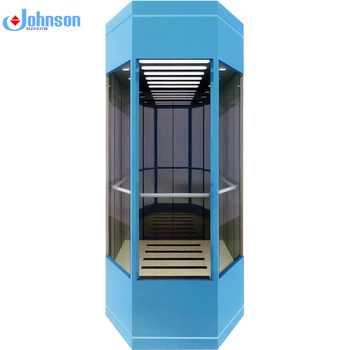 Outlet building top brand lift smart new external elevator for 8 person