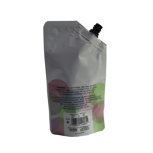 Factory Custom Disposable Plastic Bag for Shampoo and body wash,Plastic Bag With Suction <strong>Nozzle</strong> for Laundry detergent